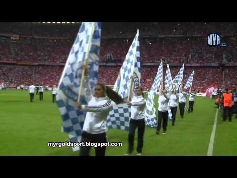 (New) 2012 uefa champions league final opening ceremony, allianz arena, munich