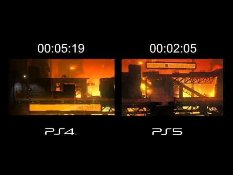 (New) (preview) oddworld new n tasty ps4 vs ps5 load times comparison