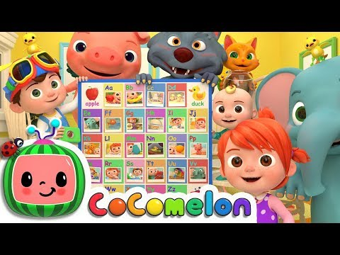 (VFHD Online) Abc phonics song | cocomelon nursery rhymes e kids songs