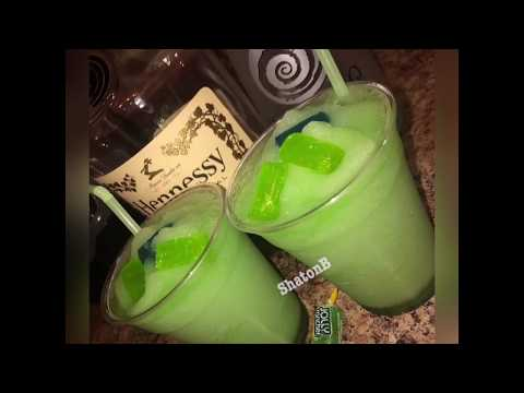 (New) How to make a incredible hulk alcoholic frozen drink