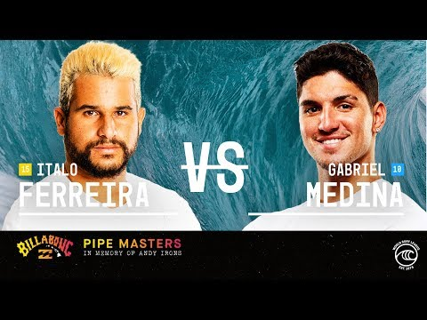 (Ver Filmes) Italo ferreira claims dream victory over gabriel medina to win billabong pipe masters 2019