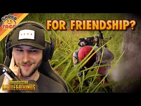 (New) Play for friendship, but only on sanhok ft. halifax - chocotaco pubg duos gameplay