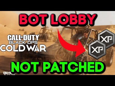 (HD) Cold war bot lobby glitch after patch 1.06 - *still working* - unlock xp and camos - all platforms