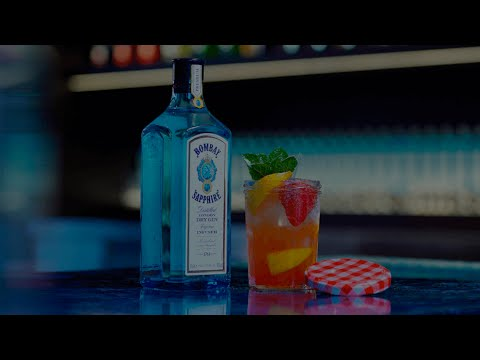 (HD) Positive libations - bombay sapphire cocktail