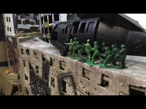 (New) Army men. green vs. tan: entire war compilation