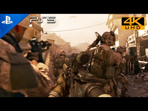 (New) Hunting party [ps5 hdr 4k] next-gen ultra realistic graphics playstation 5 call of duty gameplay