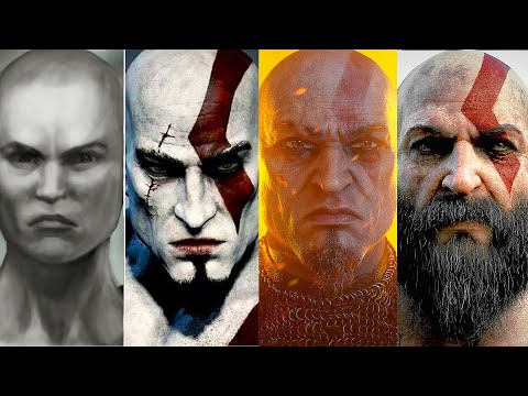 (New) God of war saga movie all cutscenes kratos full story chronological order (gow 1, 2, 3, 4 ascension)
