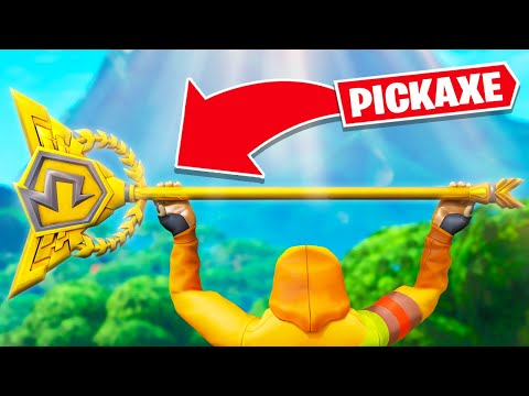 (HD) The rarest pickaxe in fortnite
