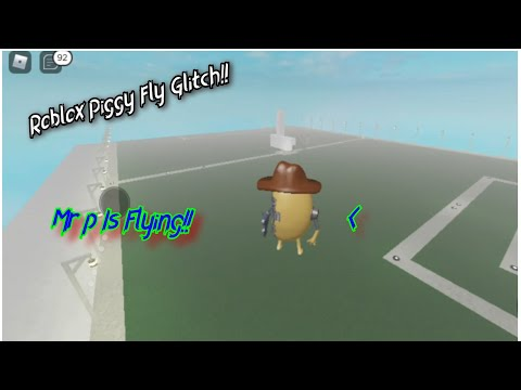 (HD) How to fly as piggy in roblox piggy!! - roblox piggy funny moments [piggy glitches] full tutorial