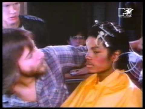 (HD) Michael jackson - making of the thriller video 1983