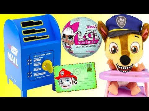 (Ver Filmes) Paw patrol chase learns to use magic mailbox and wins biggest toys ever