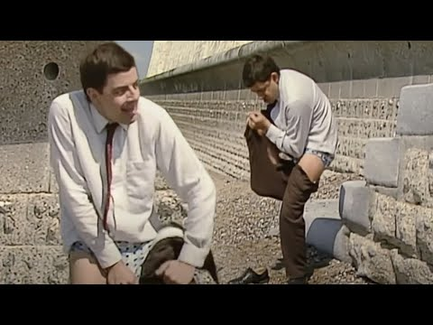 (Ver Filmes) Changing into trunks | mr bean full episodes | mr bean official