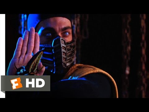 (New) Mortal kombat (1995) - enter sub-zero and scorpion scene (2 10) | movieclips