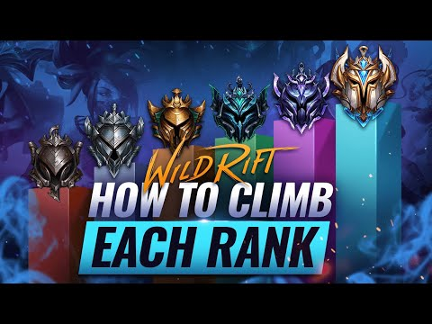 (New) How to rank up - climb out of any elo in wild rift (lol mobile)