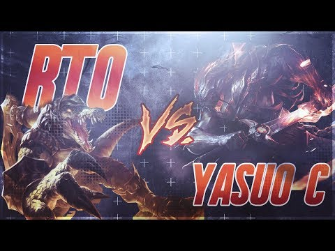 (New) Rtos renekton vs. yasuo cs yasuo (full game vod with commentary - patch 8.9)