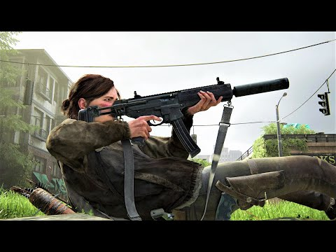 (New) The last of us 2 - epic stealth e brutal combat compilation (cool new game plus moments)