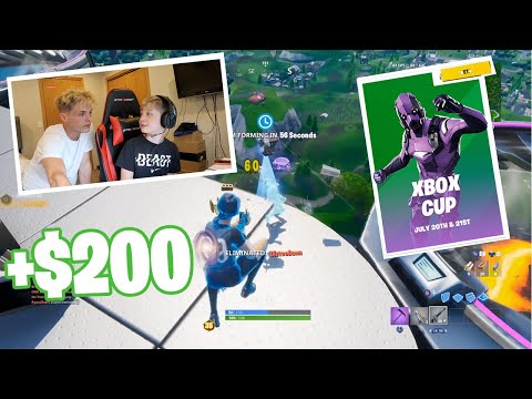 (Ver Filmes) 13 year old brother takes controller and wins fortnite xbox cup!