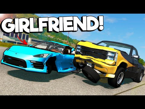 (New) I tried to teach my girlfriend how to play beamng?! - beamng multiplayer mod crashes e police chases