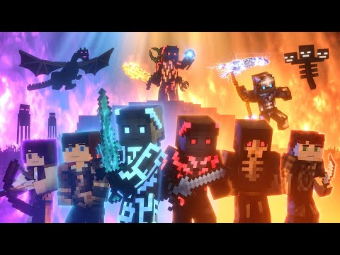 (New) Songs of war: full movie (minecraft animation)