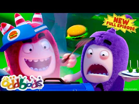 (New) Oddbods | food rivals | new full episode | cartoons for kids