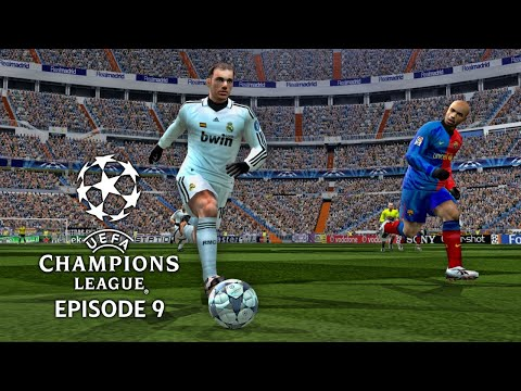 (New) Pes 6 - uefa champions league 08 09 episode 9: semi finals 2nd leg!