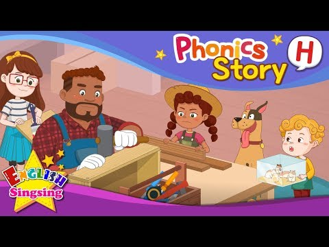 (VFHD Online) Phonics story h - english story - educational video for kids