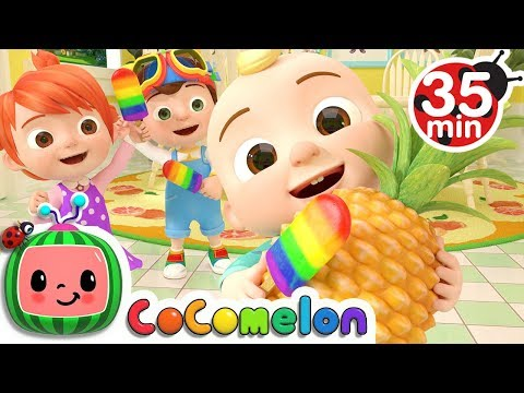 (Ver Filmes) The colors song (with popsicles) + more nursery rhymes e kids songs - cocomelon