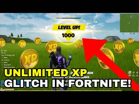 (HD) *solo xp glitch* how to get unlimited xp (level up fast to level 220) | fortnite xp glitch