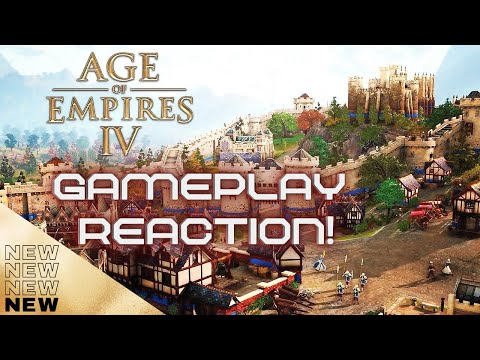 (New) Age of empires iv new gameplay trailer reaction 2021 (age of empires iv)