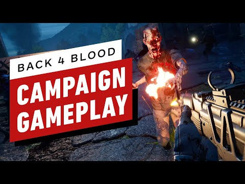 (New) Back 4 blood - full campaign closed alpha gameplay
