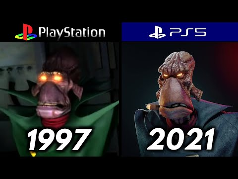 (New) Then and now - evolution of oddworld games [1997 - 2021]