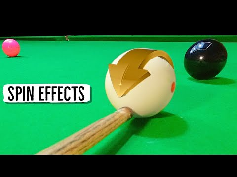 (New) Snooker cue spin tutorial