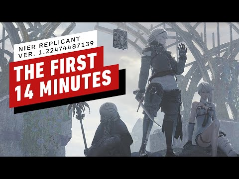 (New) The first 14 minutes of nier: replicant ver. 1.22474487139
