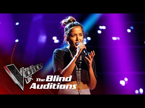 (New) Claudillea holloways queen of the night aria | blind auditions | the voice uk 2020