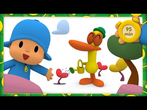 (Ver Filmes) 🌱 pocoyo and nina - growing a tree [95 minutes] | animated cartoon for children | full episodes