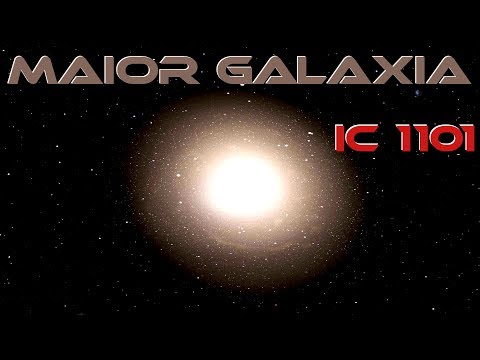(New) Maior galaxia do universo! ic 1101! space engine