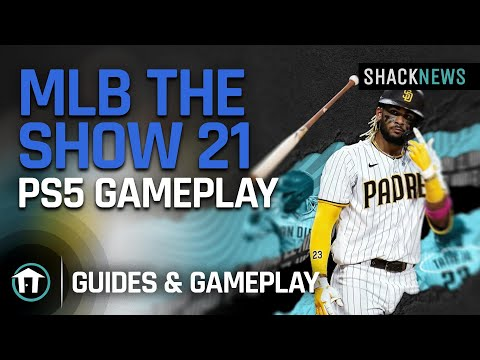 (New) Mlb show 21 - ps5 4k gameplay