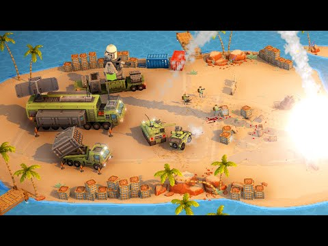 (New) New - full-scale combat tactical real time strategy base combat   warpips gameplay
