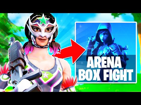 (VFHD Online) Playing the *new* box fight arena mode in fortnite season 6! (new arena gamemode!)