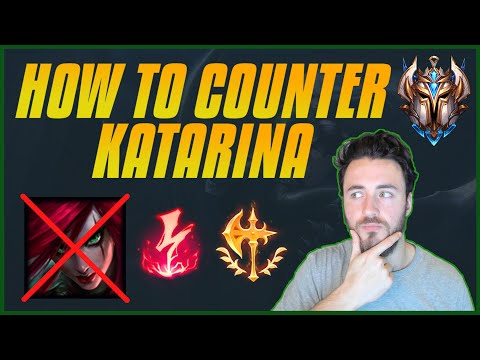 (New) How to counter katarina : laning tips + most common mistakes + using examples
