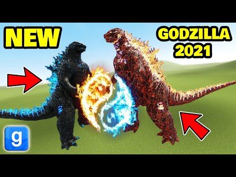 (New) Is godzilla 2021 the new strongest nextbot?? garrys mod sandbox