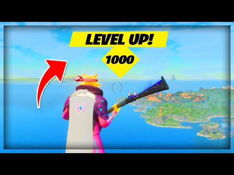 (HD) How to get supercharged xp in chapter 2 season 4 100,000 xp (fortnite)