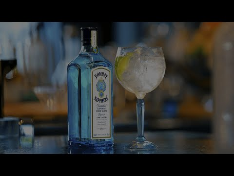 (New) The ultimate gin e tonic - bombay sapphire cocktail