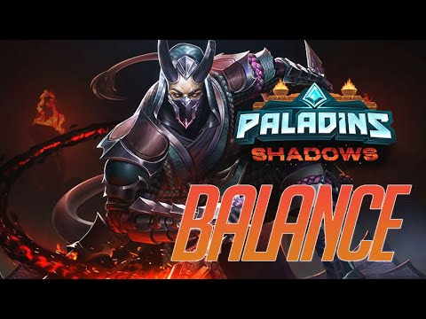 (New) Paladins shadows update - balance in 5 min ✔️