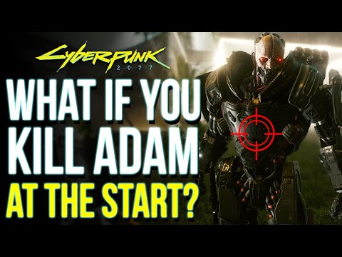 (New) What happens if you kill adam smasher during the prologue in cyberpunk 2077 | cyberpunk 2077 secrets